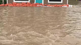 Flooding in Augusta Montana - Video