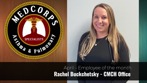 Medcorps employee of the month