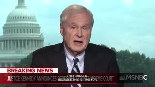 "Chris Matthews on Anthony Kennedy retirement: ""This is the time for vengeance."""