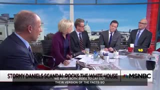 "Stormy Daniels' lawyer tells @Morning_Joe his client has been ""physically threatened."" - Video"