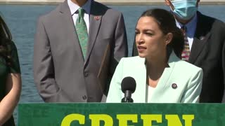 AOC Says What Causes Climate Change