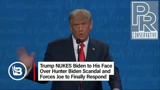Trump exposed Biden on his overseas corruption
