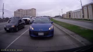 Rear Dashcam Fender Bender - Video