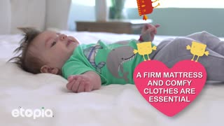 Ensure your baby sleeps safely - Video