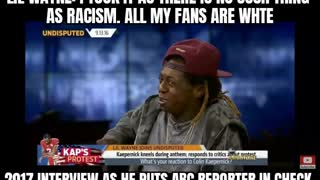 Little Wayne doesn't see people as racist