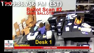 Fulton County Fraud - Ballot Re-Scanning Multiple Times