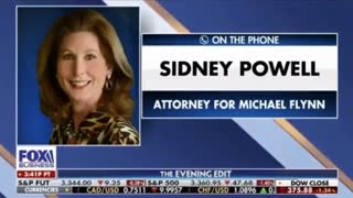 Sidney Powell Say What?! Truth Bomb Incoming!