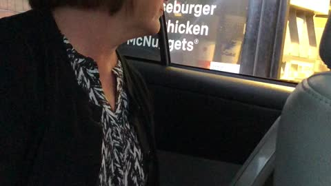 Drive-Thru Employee Gets Coned