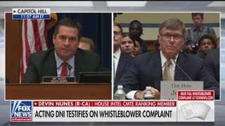 Nunes final remarks in whistleblower hearing