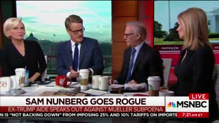 Joe Scarborough Says Nunberg 'Completely Abandoned' by Trump Campaign - Video