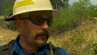 Wildfires scorch parts of Western U.S. - Video