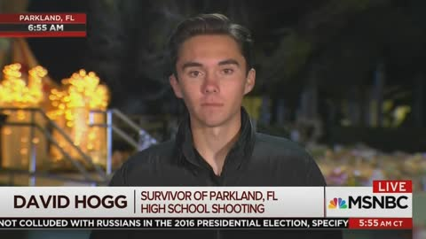 David Hogg Says Polls Showing His Generation Doesn't Agree With Him on Guns Are 'Biased'