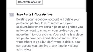 Deleted Facebook