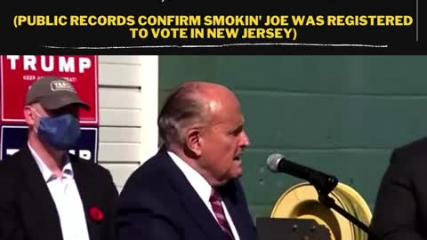 Joe Frazier voted this year in Pennsylvania, says Rudy Giuliani.