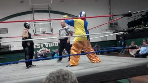 Where Pro Wrestling Goes to Die: A Blob and his Clown