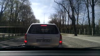 Major Accident in Bialystok, Poland