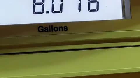 Woman Pays 29 Cents for Full Tank of Gas