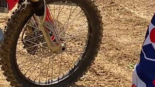 Removing a Snake from a Dirt Bike