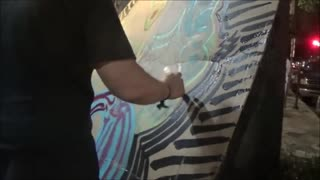 Street Art Jam Music Station Artist Quint- Another Cultural Landslide - Video