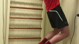 Toilet paper pull-ups are the best way to stay in shape right now