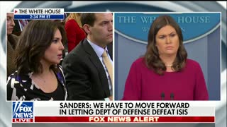 Playboy WH Correspondent Asks Sarah Sanders If She's Ever Been Sexually Harassed - Video