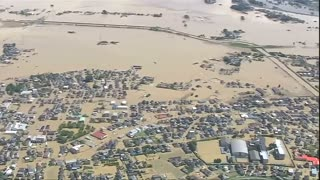 Flooding inundates parts of Japan