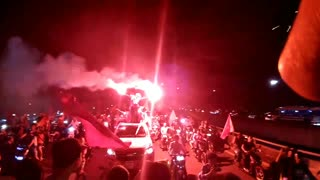 How Vietnamese fans celebrate after the AFC U-23 Championship