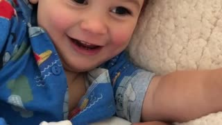 Big Brother Adores Baby Sister - Video