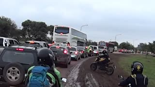How NOT to ride a street motorcycle in the MUD