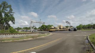 Armored Brigade Combat Team Heading Out By Rail - Video