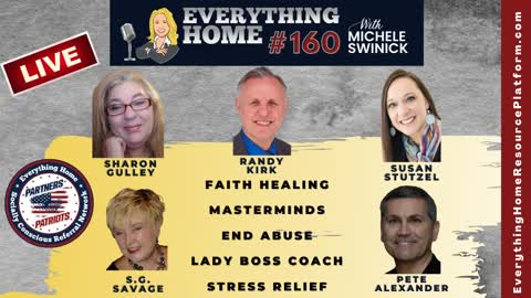 160 LIVE: Faith Healing, Masterminds Are Essential, Lady Boss Coach, End Abuse, Stress Relief