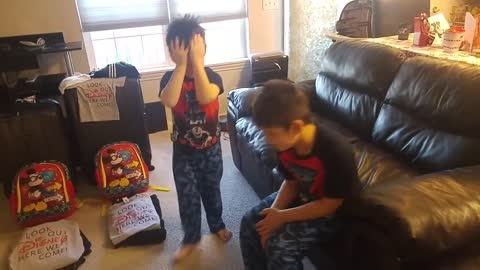 Two Brothers Tear Up Over Surprise Trip To Disneyland