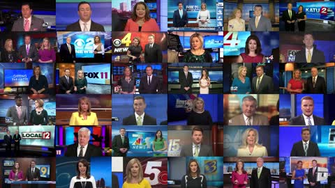 Fake News Media Mass Brainwash Mind Control - Sinclair Soldiers Cabal