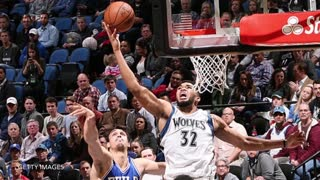 Karl-Anthony Towns Takes Joel Embiid To School With Pump Fake & Dunk - Video