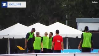 Neymar confronts Semedo - Video