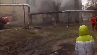 Man Saves Children From Burning House