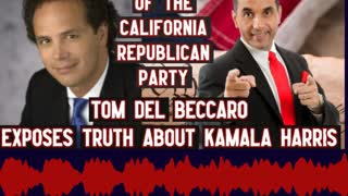 Tom Del Becarro Shares how Kamala Harris is an Empty Vessel!