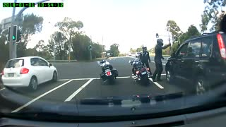 Berowra Road Rage - Video