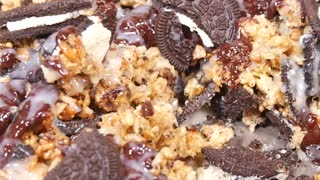 Oreo Rice Krispies Sqaures