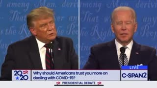 Trump Vs Biden Debate 2020 Part 2