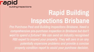 building and pest inspection brisbane - Video