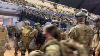 Military on the ground, Trump instructed