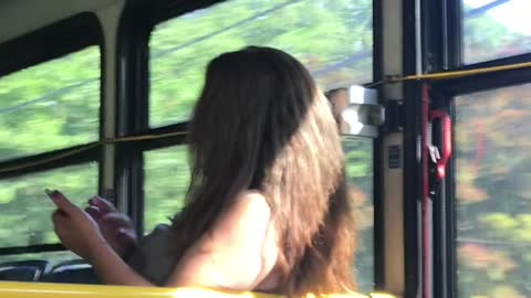 Woman Goes on Racial Rant on Bus