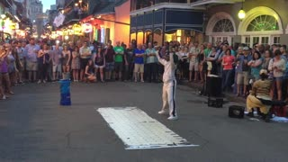 Breakdancing To UpTown Funk By Bruno Mars In New Orleans