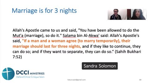 Livestream with Sandra Solomon Can you marry me for the weekend