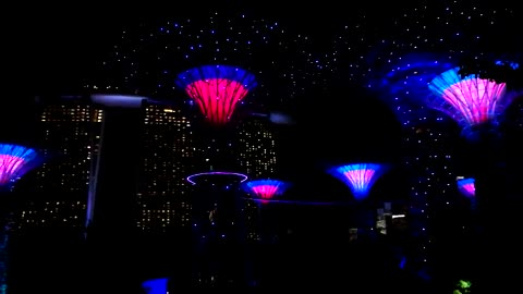 This Unbelievable Singapore Light Show Will Blow Your Mind
