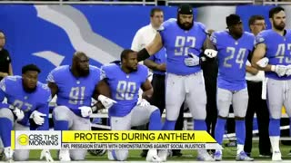 NFL pre-season kicked off with new player protests - Video