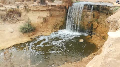 Fantastic Old Wadi El Rayan Waterfalls In Egypt