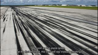 Interesting things revolve around aircraft tires