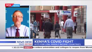 Kenya's COVID fight: New infection numbers decline